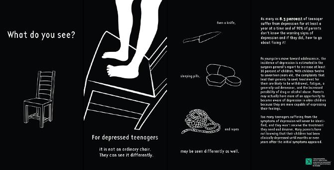 teen depression campaign